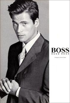 Mark Vanderloo by Avedon for Hugo Boss.