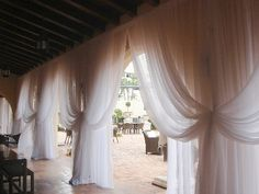 Stage Lights and Sound Rentals andProduction Services Pipe and Drape | Sheer white draping