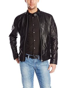 Diesel Men's L-Monike Jacket, Black, Medium Diesel ++ You can get best price to buy this with big discount just for you.++