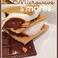 Microwave S'mores Recipe