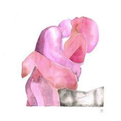 Make Love Watercolor Archives — tinamariaelena