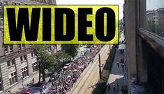 GIGANTYCZNA manifestacja kroczy przez Warszawę! Media o tym milczą