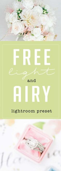 Free Light and Airy Lightroom Preset from Jordan Brittley - Online Photo Editing - Online photo edit platform. - free light and airy lightroom preset