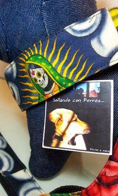 Soñando con Perros: COLLAR MARTINGALE XL Y CORREA [VÍRGENES MEJICANAS] PARA MARIETA Y IRON...
