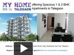 1 & 2 BHK Residential Flats at My Home Talegaon in Talegaon Dabhade Pune
