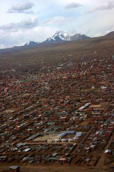 El Alto, Bolivia - 100 Incredible Views Out Of Airplane Windows