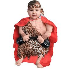 Infants' Mini Muscle Man Costume