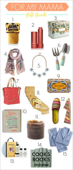 15 Mother's Day Gift Ideas!