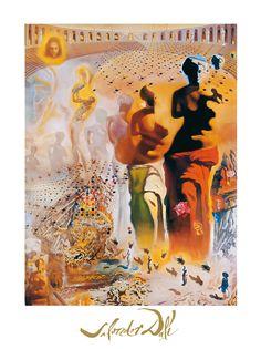 Title:  El torero hallucinogene    Artist:  DALI,SALVADOR