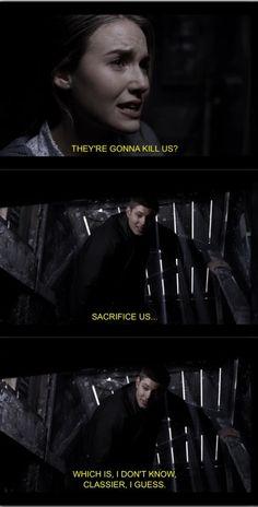 Supernatural. So comforting, Dean.