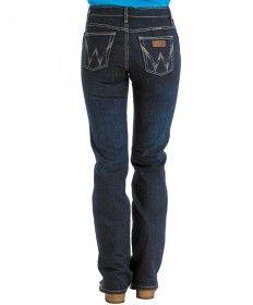 Wrangler Women's Cash Ultimate Riding Jean - Dark Wash