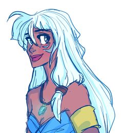 Anonymous asked you: Atlantis: The Lost Empire and Treasure Planet Kida& design is so wonderfullll! I like both these movies, but I& gonna go with Atlantis Princess Kida, Disney Princess Art, Disney Fan Art, Disney Love, Disney Magic, Kida Disney, Princesa Disney, Walt Disney Animation, Animation Film