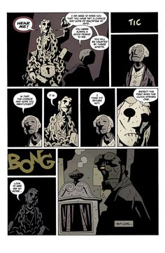 Hellboy in Hell returns today, read the entire first issue right here Mike Mignola Art, Magic Book, Comic Page, Tentacle, Zine, Existential Crisis, Comic Books, Marvel, Graphic Novels