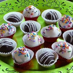 """Twilight Dark Chocolate Truffles 