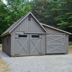 White River Garages - Custom Barns and Buildings - The Carriage Shed