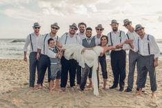 Pdrinhos com look para casamento na praia