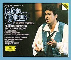 OFFENBACH Les Contes d'Hoffmann Ozawa - Deutsche Grammophon