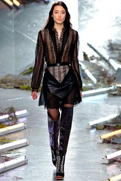 Rodarte Fall 2015 Ready-to-Wear Fashion Show - Tiana Tolstoi (Trump)