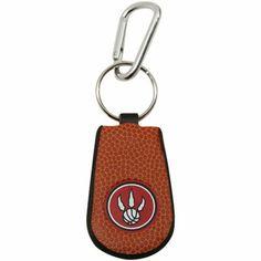 best service 81e0a bc451 Toronto Raptors Basketball Leather Keychain