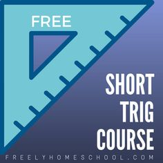 A reader sent me a link to a short trigonometry course, accurately named Dave's Short Trig Course. It's from Clark University and is an overview of trigonometry. Free Homeschool Curriculum, Homeschooling, Framed Words, Math Courses, Math Graphic Organizers, Math Help, Math Notebooks, Free Math, Math Games
