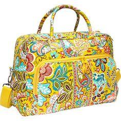 Vera Bradley Weekender Provencal Provencal - Vera Bradley Luggage Totes and Satchels