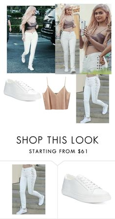"""""""Kylie Jenner street style, steal her style"""" by simina650 ❤ liked on Polyvore featuring Kenneth Cole Reaction"""