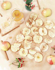 A Bubbly Life: Recipe Cinnamon Apple Honey Chips