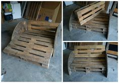 #PalletSofa, #RecycledPallet