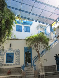 Dar el Annabi house - Sidi Bou Said Tunisie