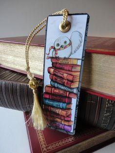 Harry Potter Bookmark by SamSkyler on Etsy Hedwig Harry Potter, Harry Potter Gadget, Harry Potter Cursed Child, Harry Potter Bookmark, Harry Potter Halloween, Harry Potter Houses, Harry Potter Anime, Harry Potter Facts, Harry Potter Books
