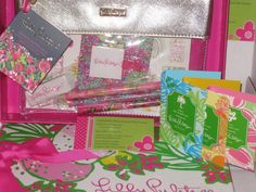 LILLY PULITZER AGENDA BONUS PACK  &  3 Lilly Perfume ,Beachy,Wink&Sq w/Gift Box  #LillyPulitzer On sale now from a seller w/ 16 yrs experience. 6579 positive feedbacks , 0 negatives. Ck out my shop on ebay, CaddyKitty Shop Around the Corner, seller hall4sale, Trisha