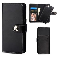 Insten Detachable Magnetic Leather Case Cover with Stand/ Wallet Flap Pouch For Apple iPhone 6 Plus/ 6s Plus/ 7 Plus #2359308