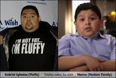Gabriel Iglesias (Fluffy) Totally Looks Like Manny (Modern Family).. seriously now!