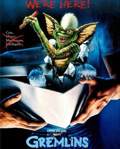It's hard to believe #Gremlins is actually classified as a #HorrorMovie! But it's true! This #80sClassic was originally intended as a horror movie and it wouldn't be #Christmas without it! #80sHorror #ChristmasHorror #Gizmo #ZachGalligan #PhoebeCates #Mogwai  'Twas a week before #Christmas and was dark in the house. It's #HorrorMovies we're playing! Stop stabbing your spouse!  #80s #ClassicMovies #80smovies