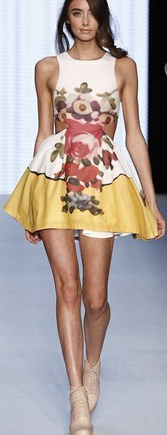 floral dress Nice . I love it  find more women fashion ideas on www.misspool.com