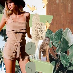 Island vibes... 🌴 Who else wouldn't mind sitting under a palm tree sipping on a coconut right now? 🥥 We love our Australian fashion! Created by one of our designers, @Sophie.Benstead ⠀ ⠀ #collage #creative #design #islandvibes #islandtime #earthy #nature #beach #island #palmtrees #fashion #paradise #summer #australianlabels #australianfashion #digitalcollage #collage #digitalcollage #collageart #digitalart #stylecollages