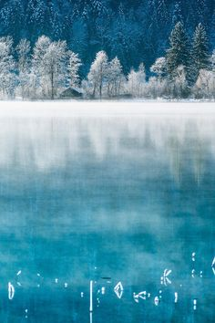 """touchdisky: """"The Lake House by Stefan Thaler (Website) """" Nature Pictures, Cool Pictures, Beautiful Pictures, Dream Images, Perfect World, Winter Landscape, Lake View, Winter Scenes, Beautiful World"""