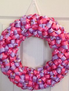 Hello Kitty Wreath....Cute!!!