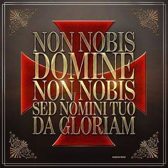 "greluc: ""O Lord, not to us, Lord, not to us but to Your name give glory, """