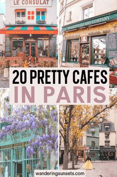 20 Insanely Cute Cafes in Paris - Wandering Sunsets