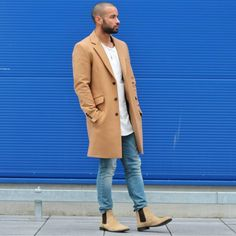Overcoat and Chelsea Boots : @brandond90 #streetstyle #chelseaboots #boots #overcoat #style #mensfashion #fashion #asos #menstyle #outfit #ootd #outfitoftheday #styleblogger #fashionblogger