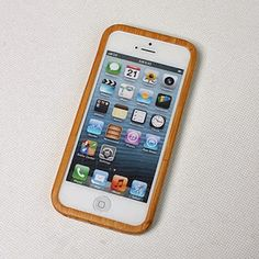 Capa para iPhone 5/5S em bambu