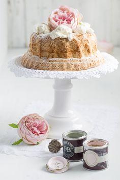Kokosnuss-Kuchen mit Mascarpone-Sahne
