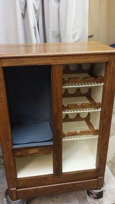 Furniture Restoration Ice Box/wine Rack
