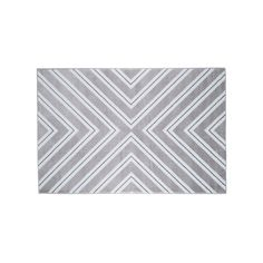 Portsmouth Home Kaleidoscope Geometric Rug, Grey, Durable