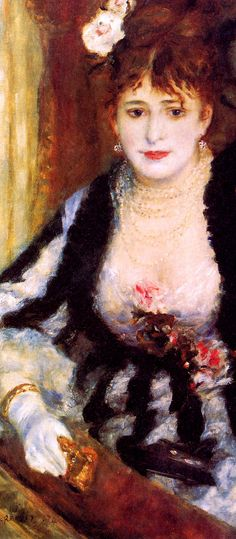 The Box ~ Pierre Auguste Renoir