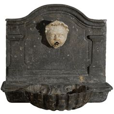 1stdibs - 18th.C. Carved French Marble Wall Fountain. explore items from 1,700  global dealers at 1stdibs.com