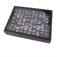 Holder Only Jewelry Display Case New 100 Slot Ear Ring Pin Show Box Organizer Holder Best Selling