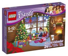 Lego Friends Advent calender