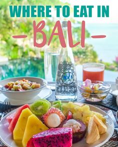 Where to Eat in Bali: Indonesian food is served fresh and will get you salivating—think rich and spicy satay, curry, nasi goreng, and gudeng. The best meal of the day is breakfast—it's cheap and delicious, and cafés are everywhere you look. But be prepare Kuta, Bali Lombok, Bali Travel Guide, Asia Travel, Bus Travel, Travel News, Travel Abroad, Denpasar, Bali Baby